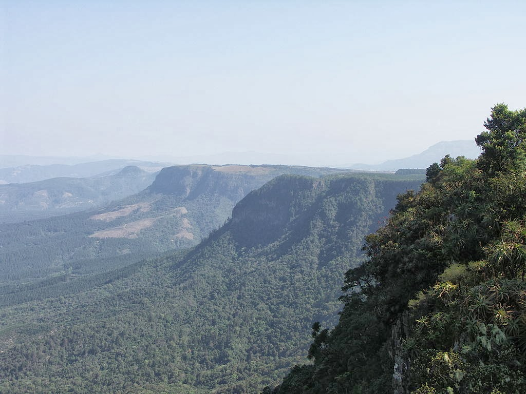 God's view at Blyde River Canyon