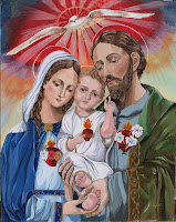 Cuadro - Corazones Unidos de la Sagrada Familia