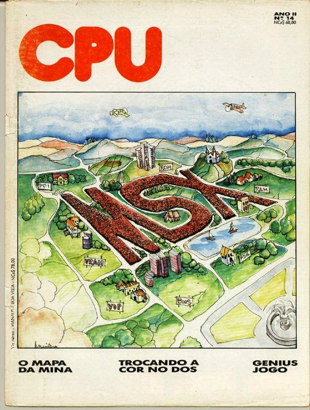 Revistas CPU MSX [Portugal] en Retroinvaders