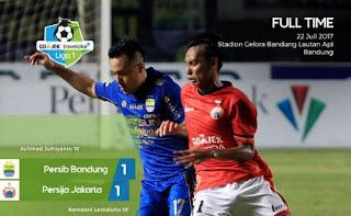 Video Cuplikan Gol Persib Bandung vs Persija Jakarta 1-1 Liga 1 2017