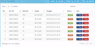 Aplikasi Bisnis Pulsa PHP GRATIS
