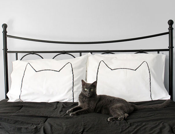 Cat Nap Pillow Case Set