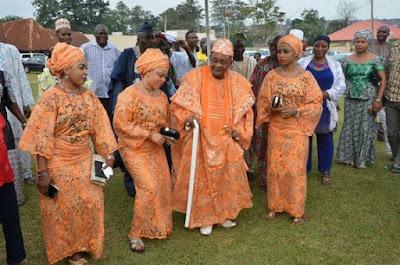 Oba Lamidi Adeyemi III  the Alaafin of Oyo