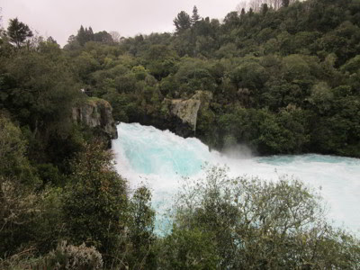 Huka Falls, Taupo, Nueva Zelanda