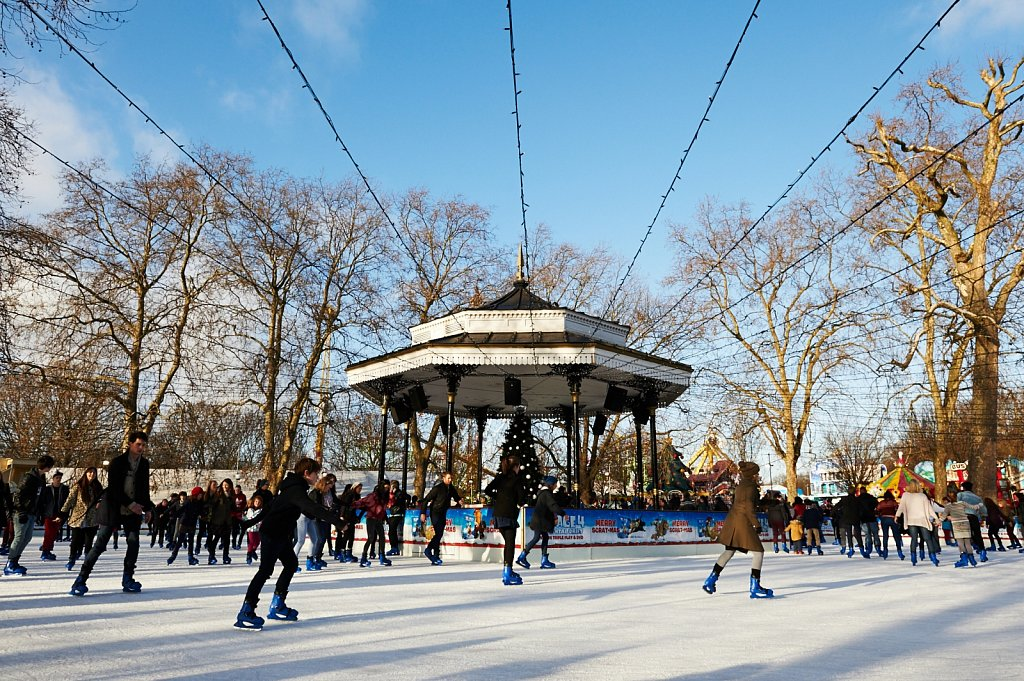 Hyde Park Winter Wonderland London Ice Skating