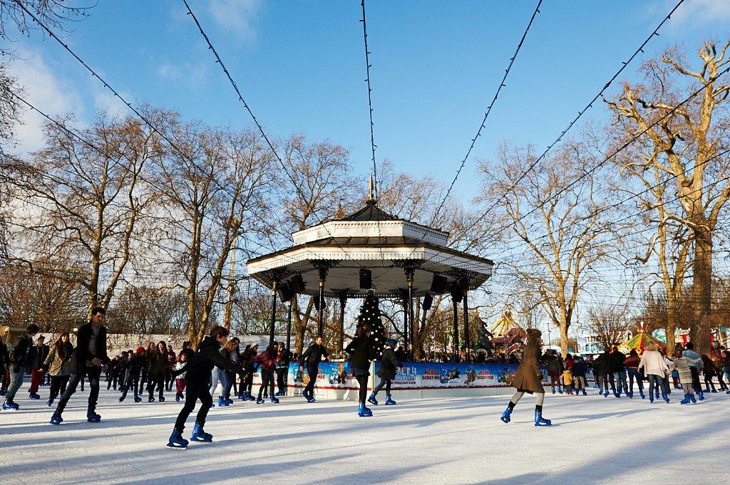 Hyde Park Winter Wonderland London Ice Skating