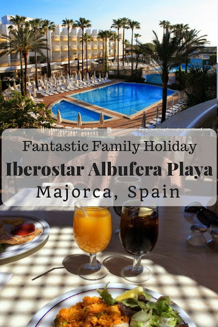 A fantastic family holiday at the Iberostar Albufera Playa, Majorca, Spain