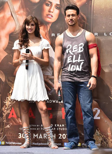 Tiger Shroff and Disha Patani