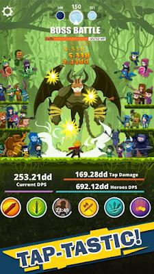Tap Titans v4.1.5 Apk MOD [Unlimited Money]