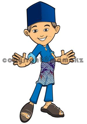 Koleksi Kartun Muslim - JIWAROSAK.COM