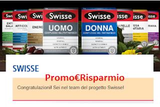 Logo Victoria50 ha selezionato le 2.000 tester integratori Swisse! Ci sei anche tu ?