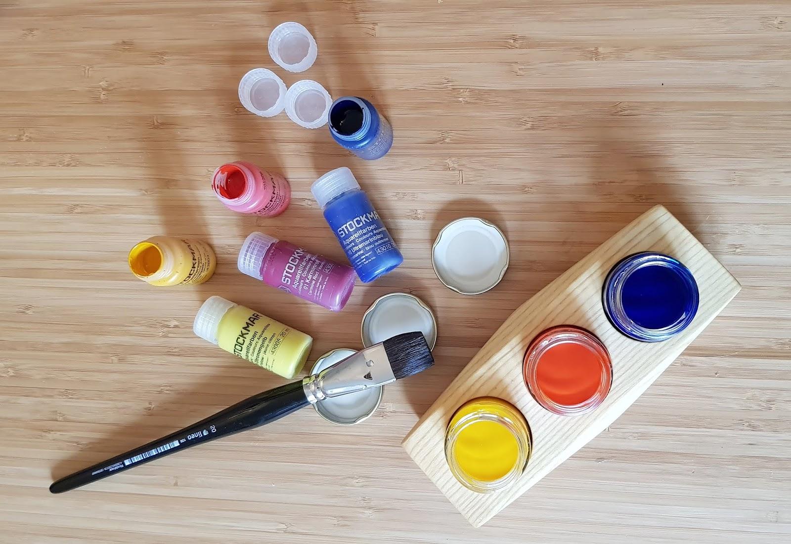 Nass In Nass Malerei An Der Waldorfschule Aquarellfarben