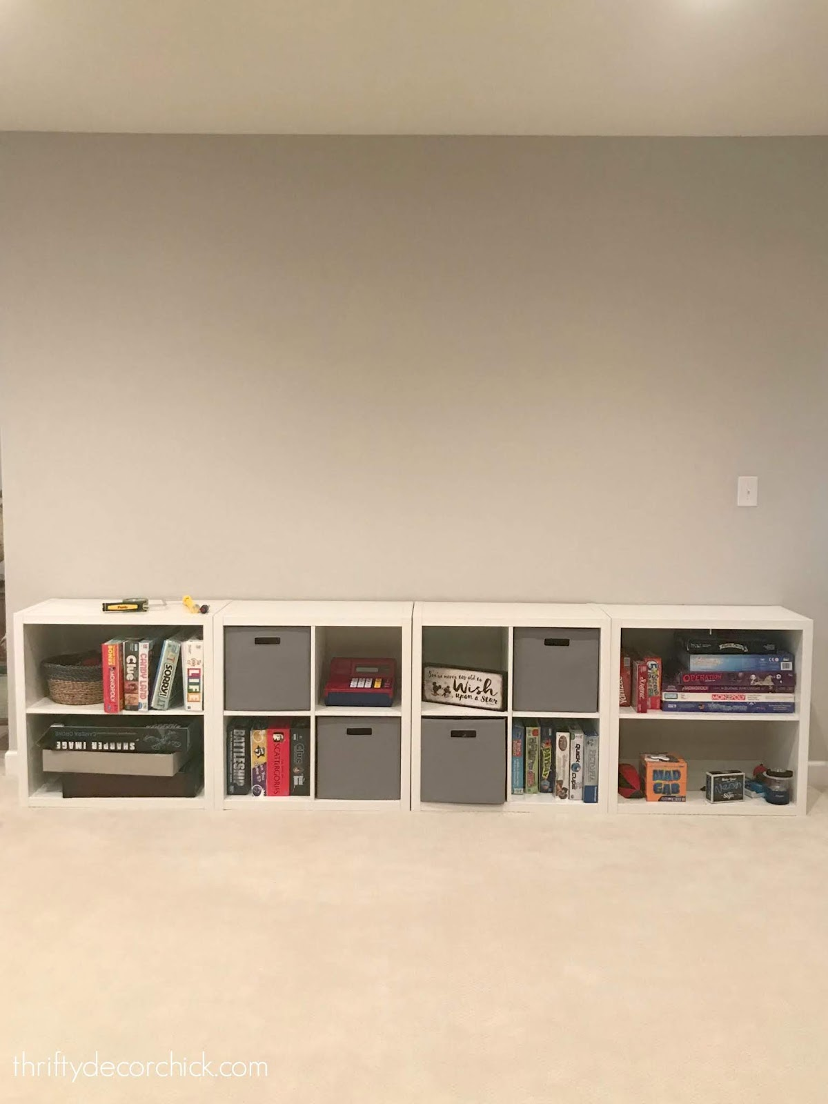 Square Kallax IKEA cubbies