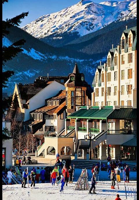 most popular Interesting Attractions in Canada - Whistler resort