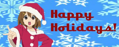 Anime Holiday Cards