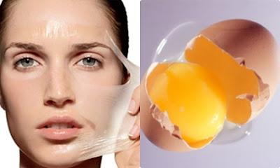 Cách làm mặt nạ trắng da bằng lòng trắng trứng