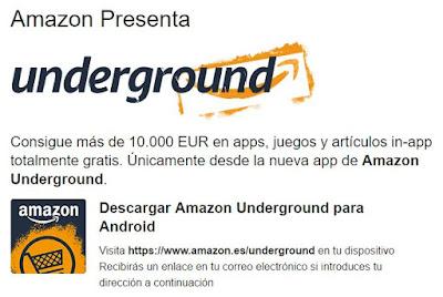 La nueva app de Amazon para descargar cientos de juegos y apps gratis.