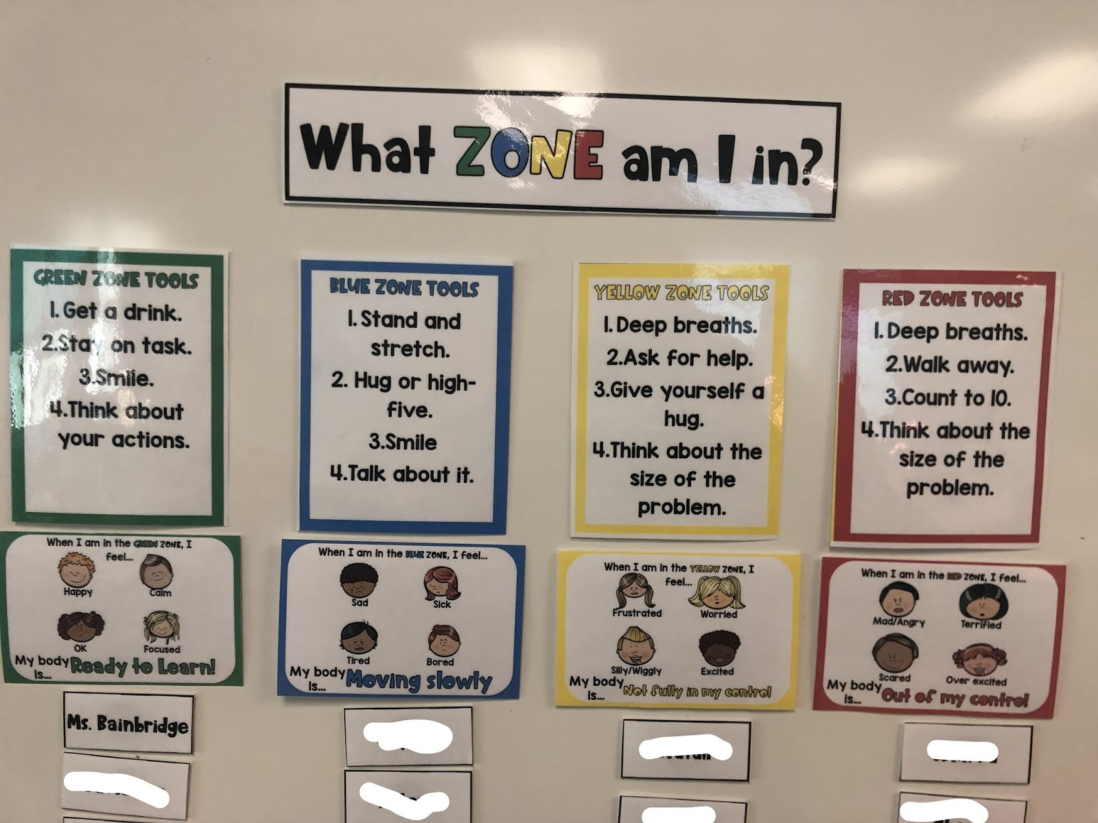 It's just an image of Mesmerizing Zones of Regulation Printable