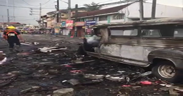 Fireworks shop explosion in Bulacan