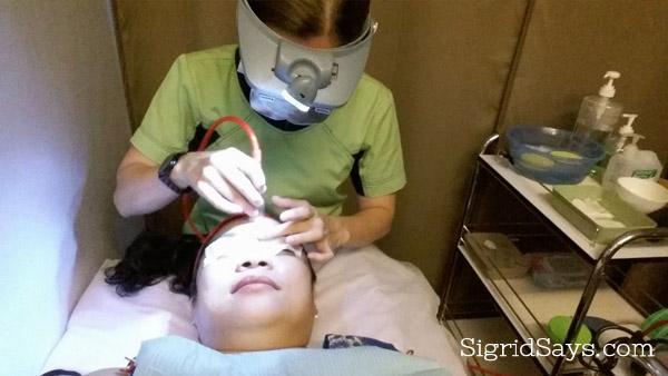 Skin Solutions facial