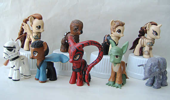 Star Wars Custom Ponies