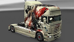 Assassin's Creed skin for Scania RJL