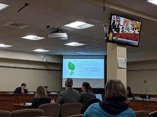School committee meeting March 12, 2019