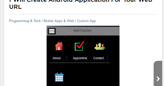 Get Android App for your Business