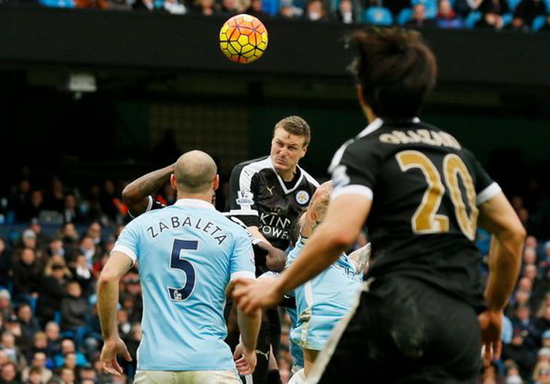 Manchester City, FC vs. Leicester City, FC 1-3. English, League, Champions, Robert Huth,
