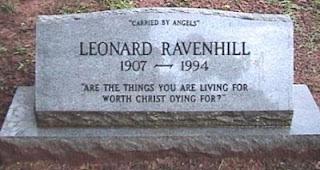 Túmulo Leonard Ravenhill
