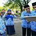 Pjs  Kota Padang Pimpim Upacara Perdana Di Gor.H.Agus Salim Padang