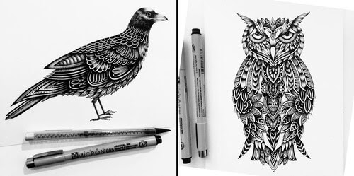 00-Pavneet-Sembhi-Fineliner-Animals-www-designstack-co