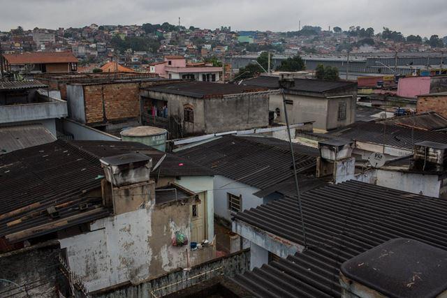 As ruas de José Bonifácio, na zona leste