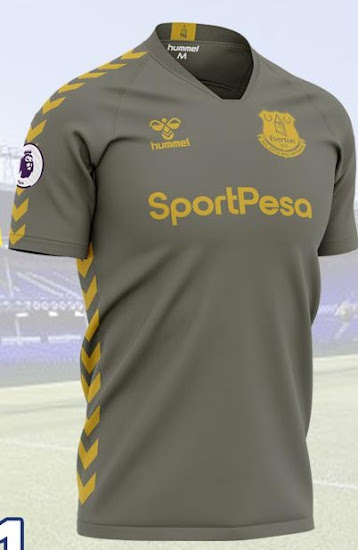 Hummel Everton 20 21 Home Away Third Concept Kits No More Umbro Footy Headlines