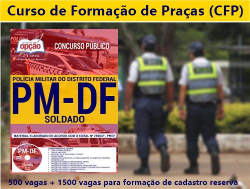 apostila Soldado Policial Militar Polícia Militar do DF