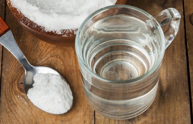 air dan garam untuk sakit gigi