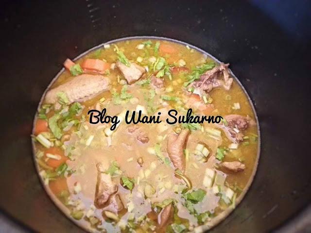 sup ayam kampung pekat noxxa
