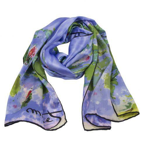 art print scarf, artistic scarves, desal scarf, leather jacket silk scarf, monet scarf, rosberg austria, rosberg scarf, rosberg scarves, rosberg store, van gough scarf, rosberg scarf review blog