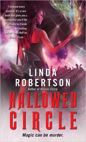 Hallowed Circle (Persephone Alcmedi, Book 2)