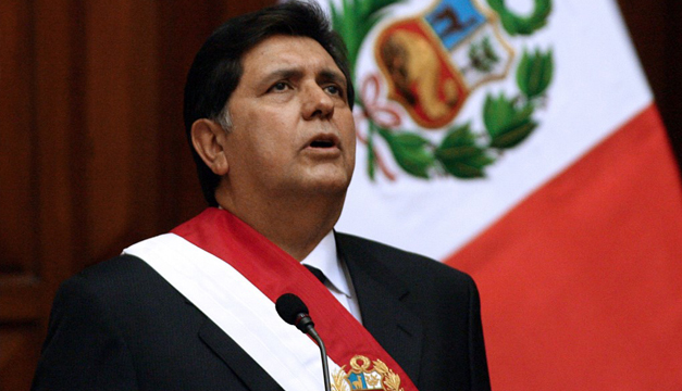 EXPRESIDENTE ALAN GARCÍA SE SUICIDA ANTES DE SER DETENIDO