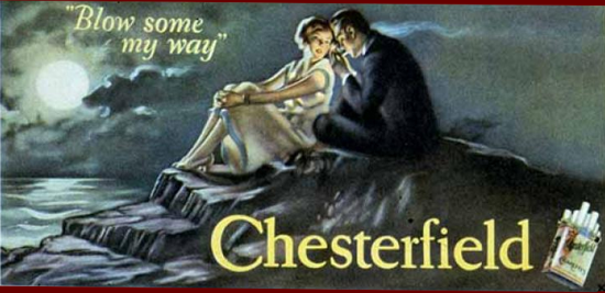 Chesterfield advertising 1926