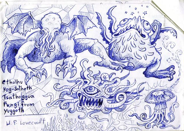 4 entidades mais perigosas de Lovecraft