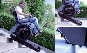 Scalevo Stair case wheel chair