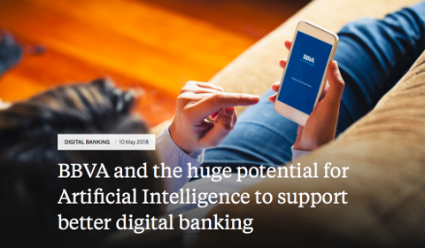 BBVA et intelligence artificielle