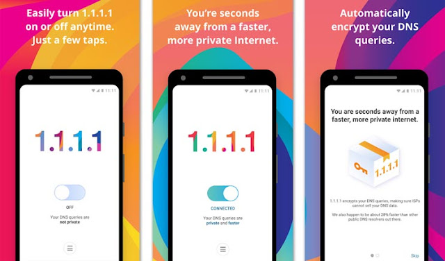 Download 1.1.1.1 APK - Aplikasi VPN Gratis