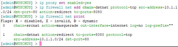 Cara Konfigurasi MikroTik Sebagai Transparent Proxy