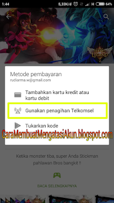 cara merubah password gmail di hp
