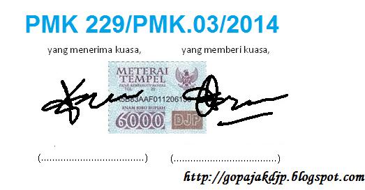 Syarat Menjadi Kuasa Berdasarkan PMK 229/PMK.03/2014