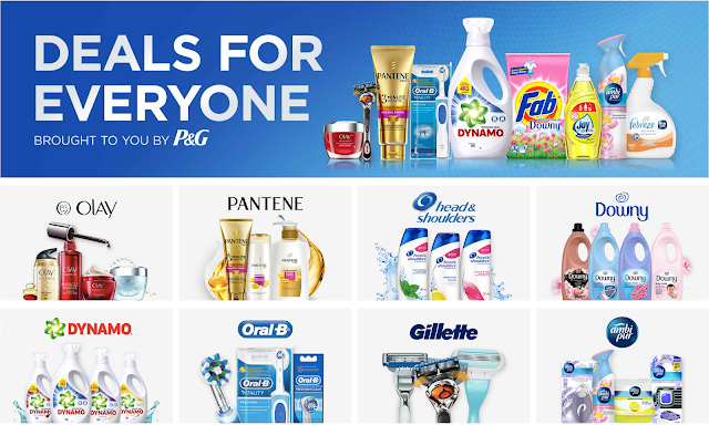 Official P&G Online Store Lazada Voucher Code Discount Promo