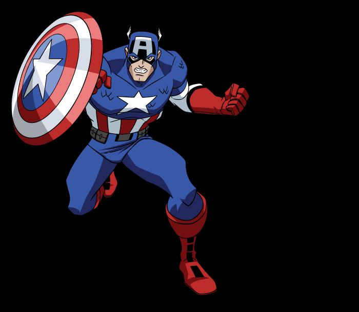 Dibujos Ideia Criativa: Capitão América Desenho Os